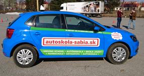 Obrázok auta Volkswagen Polo autoškoly Sabia